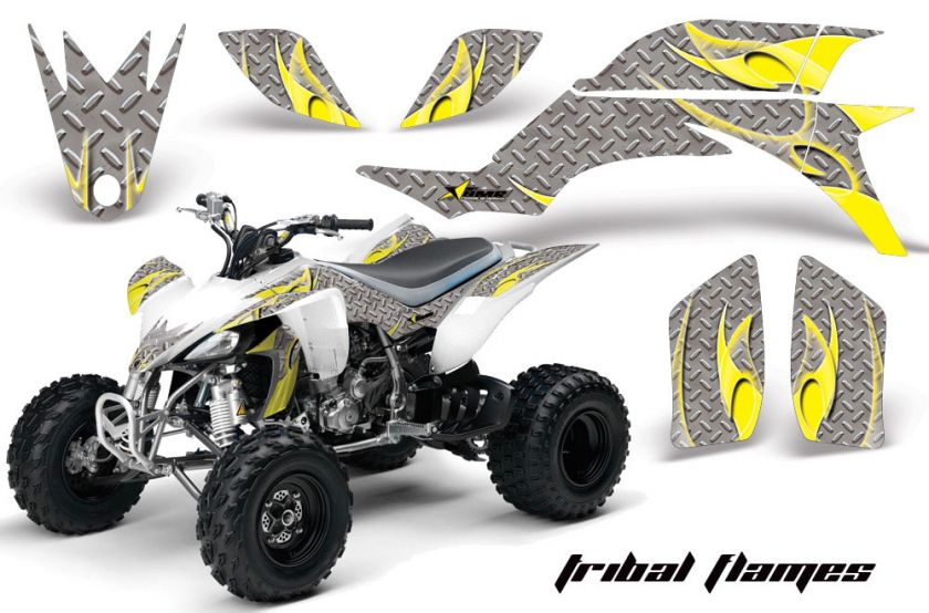 AMR RACING ATV GRAPHIC OFF ROAD DECAL QUAD STICKER KIT YAMAHA YFZ 450
